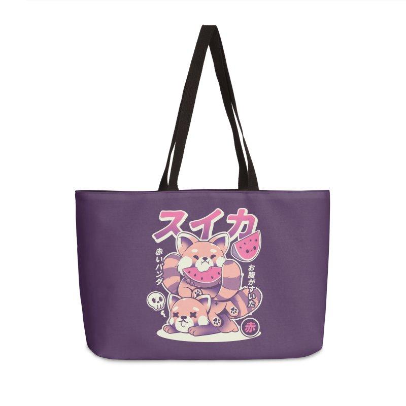 Watermelon Accessories Weekender Bag Bag by ilustrata