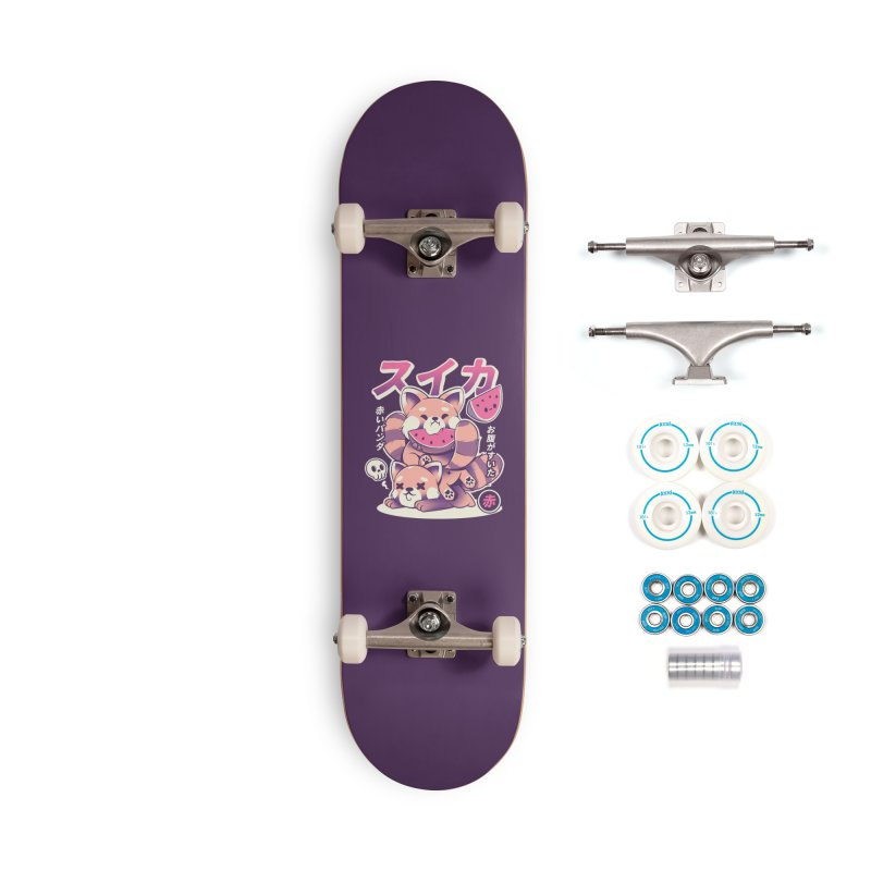 Watermelon Accessories Complete - Basic Skateboard by ilustrata