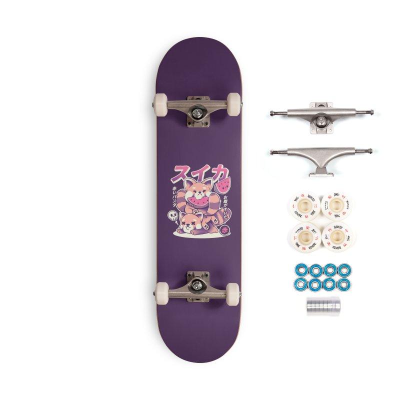 Watermelon Accessories Complete - Premium Skateboard by ilustrata