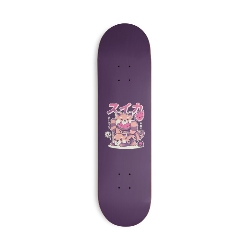 Watermelon Accessories Deck Only Skateboard by ilustrata