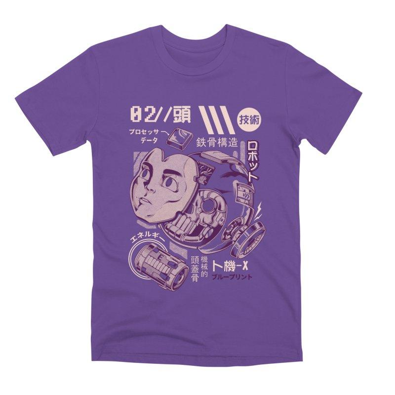 X's head Men's Premium T-Shirt by ilustrata