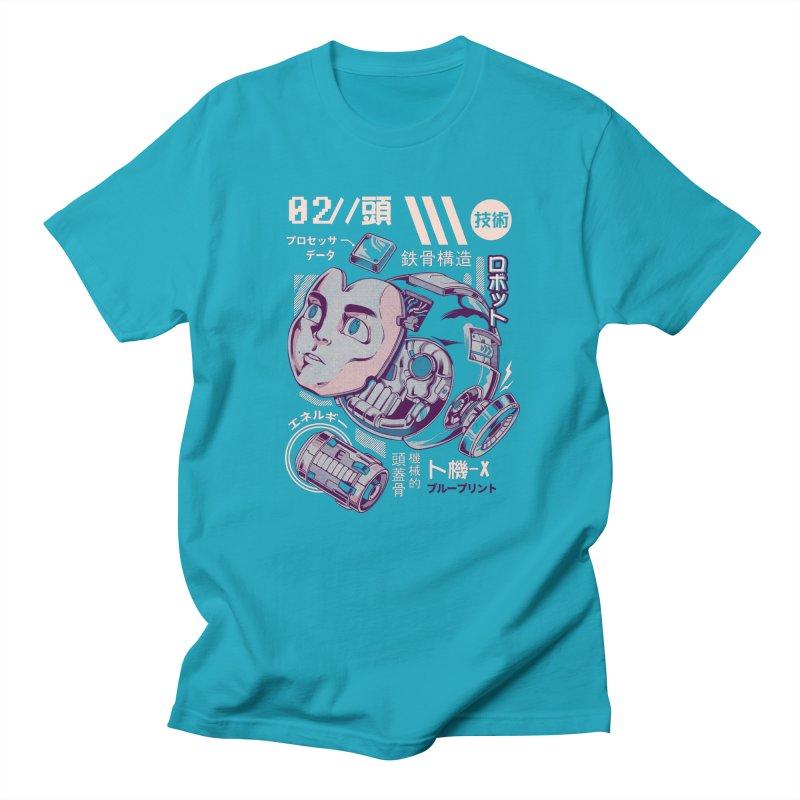 X's head Men's T-Shirt by ilustrata