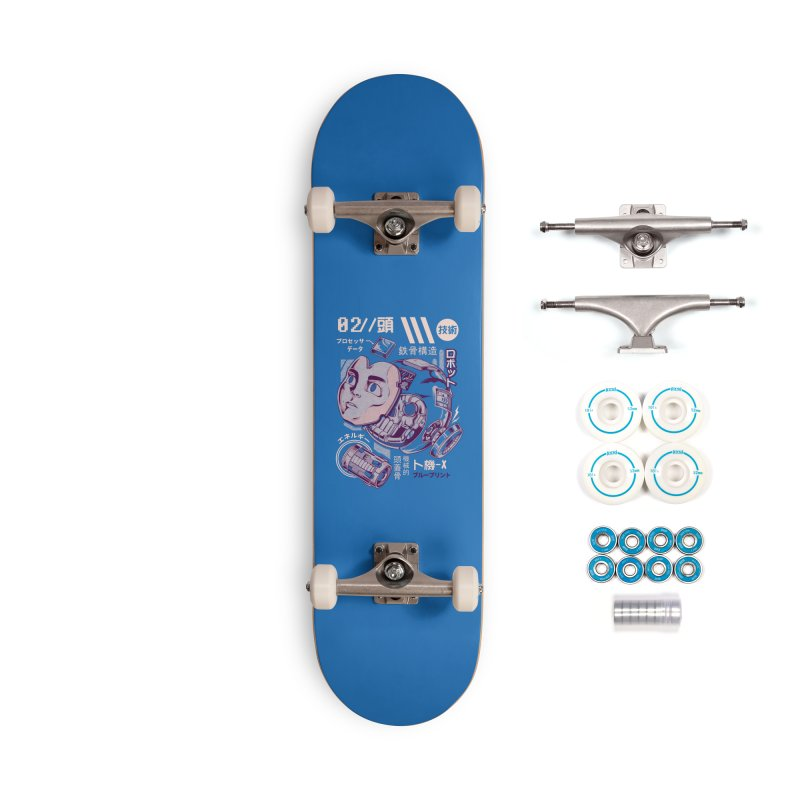 X's head Accessories Complete - Basic Skateboard by ilustrata