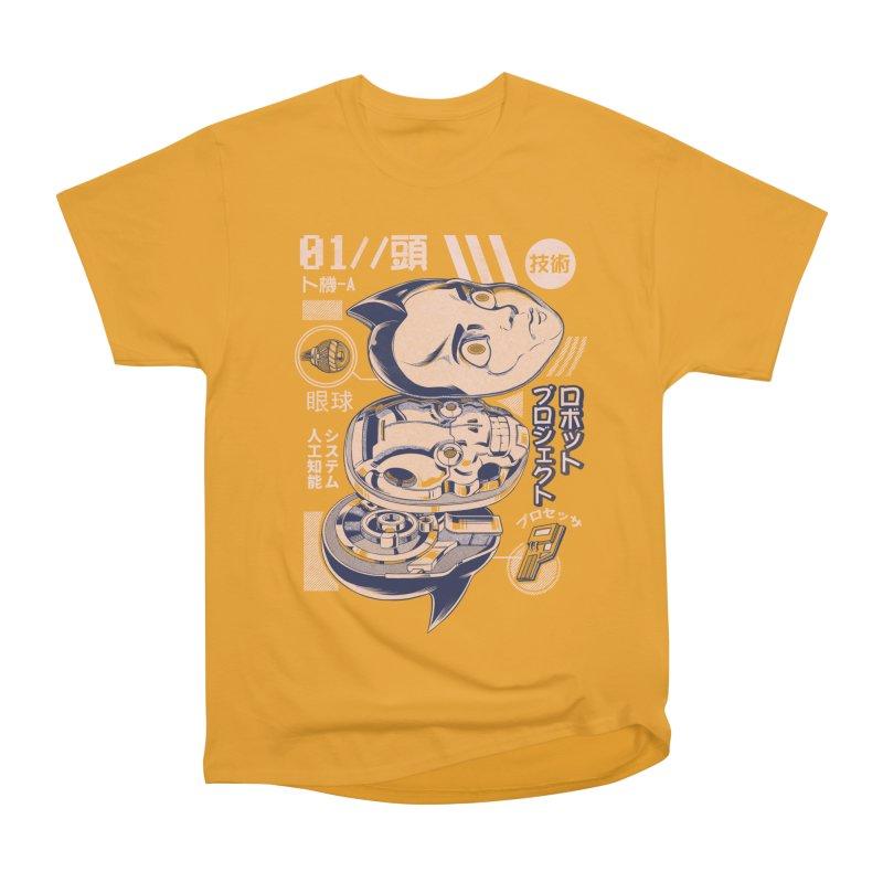 Atomic head Women's Heavyweight Unisex T-Shirt by ilustrata