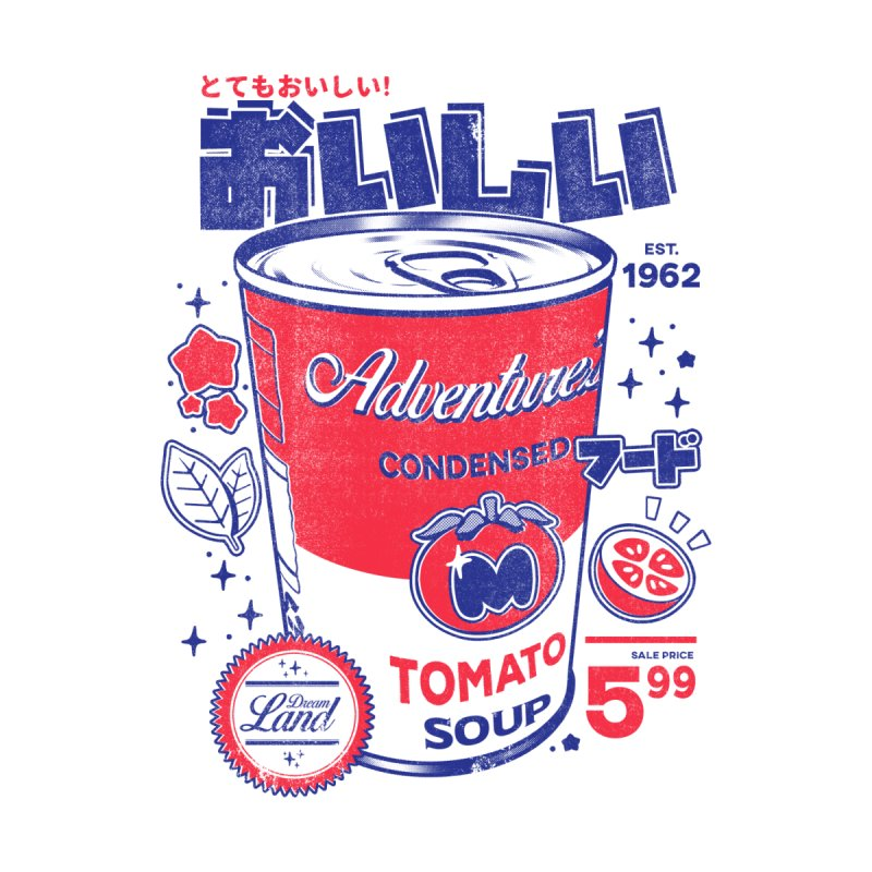Tomato soup by ilustrata