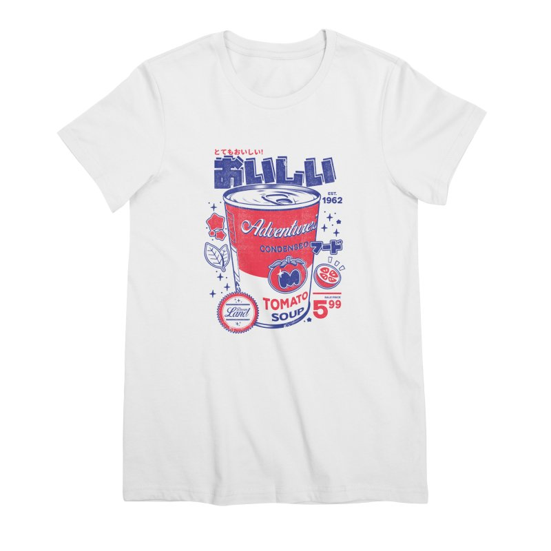 Tomato soup Women's Premium T-Shirt by ilustrata