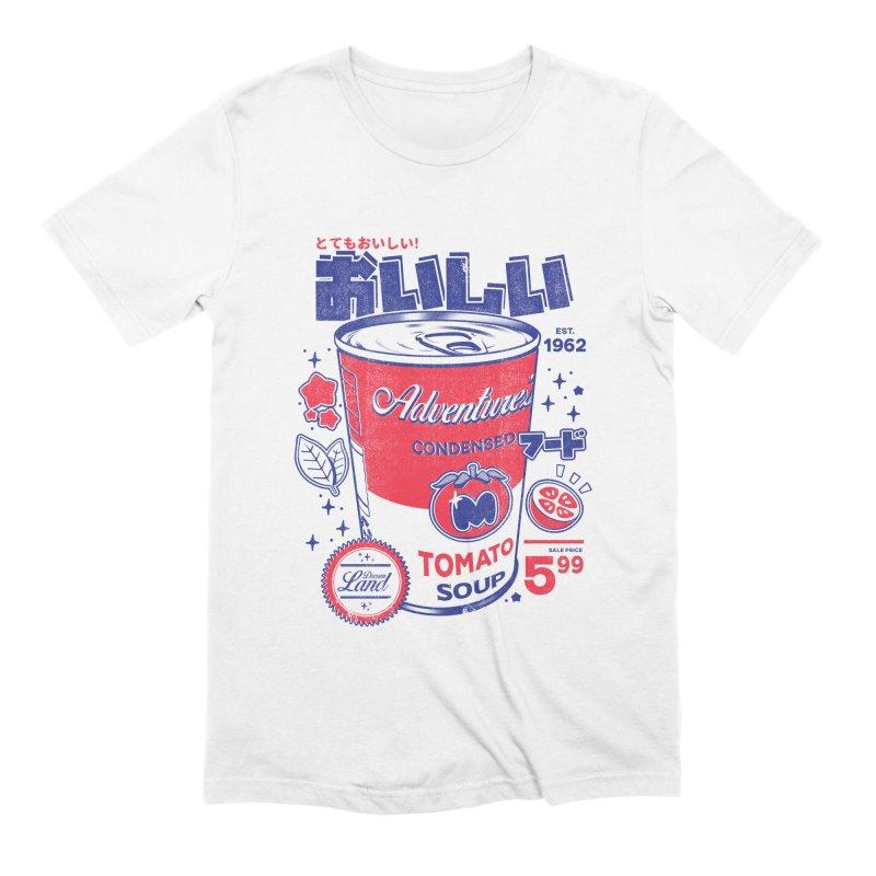 Tomato soup Men's Extra Soft T-Shirt by ilustrata