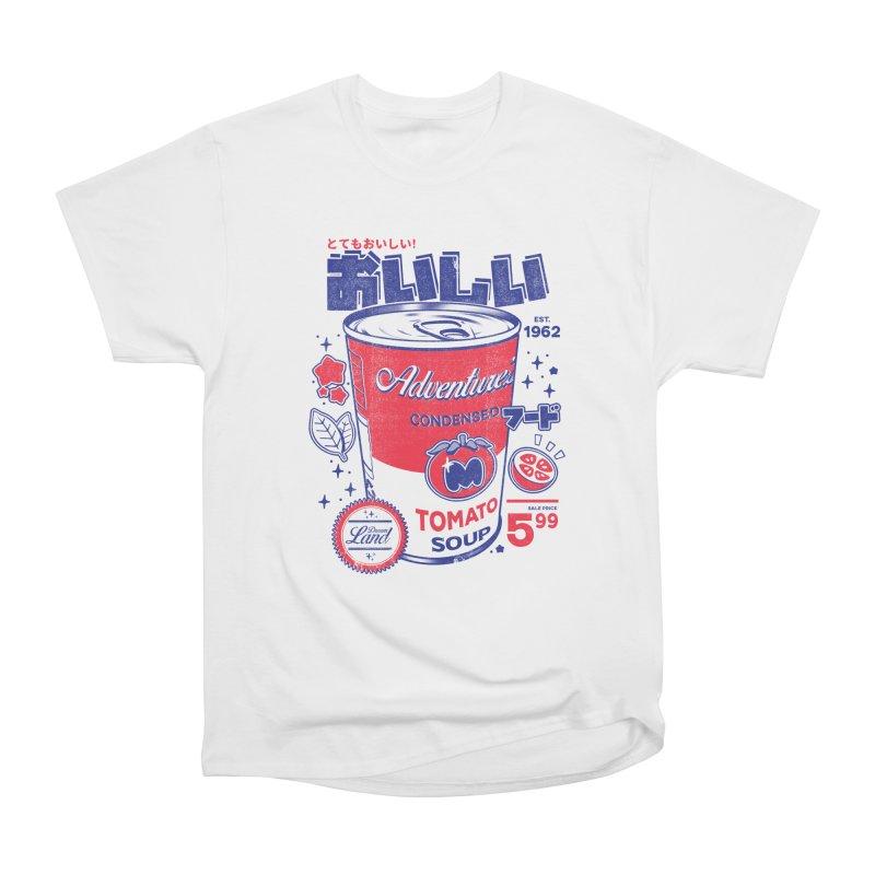 Tomato soup Women's Heavyweight Unisex T-Shirt by ilustrata