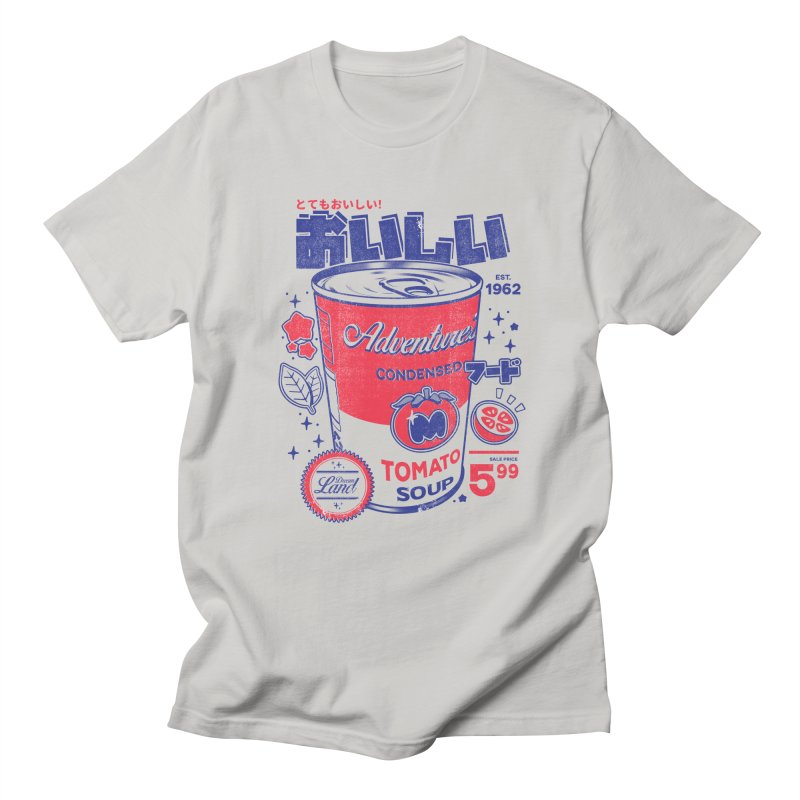 Tomato soup Men's Regular T-Shirt by ilustrata