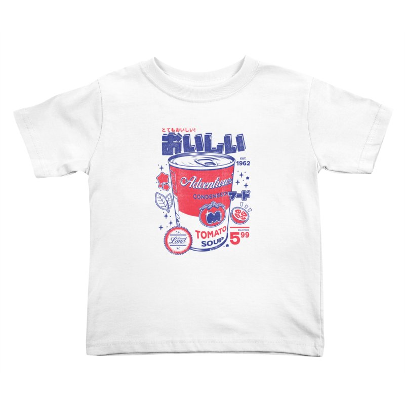 Tomato soup Kids Toddler T-Shirt by ilustrata