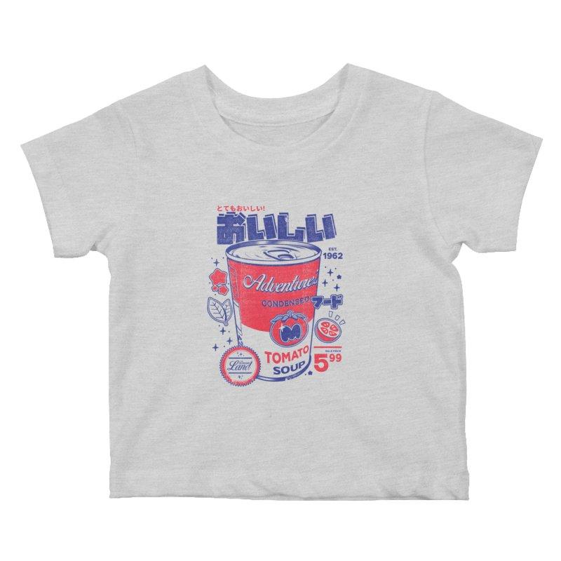 Tomato soup Kids Baby T-Shirt by ilustrata