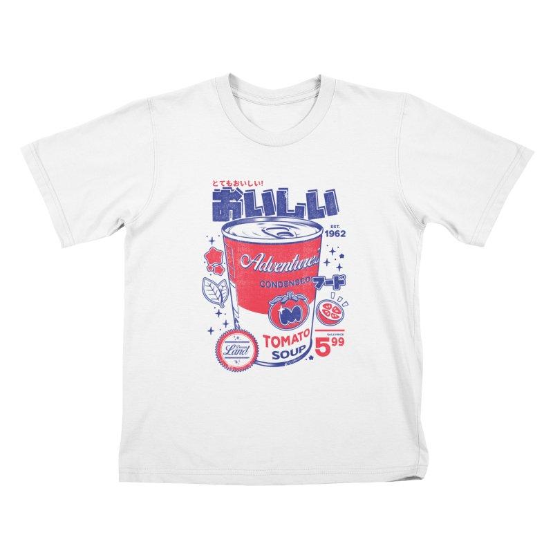 Tomato soup Kids T-Shirt by ilustrata