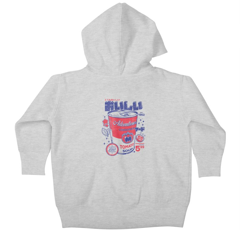 Tomato soup Kids Baby Zip-Up Hoody by ilustrata