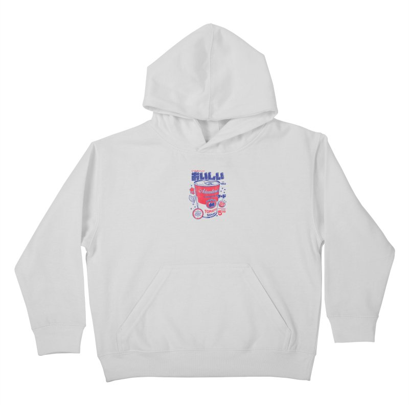 Tomato soup Kids Pullover Hoody by ilustrata