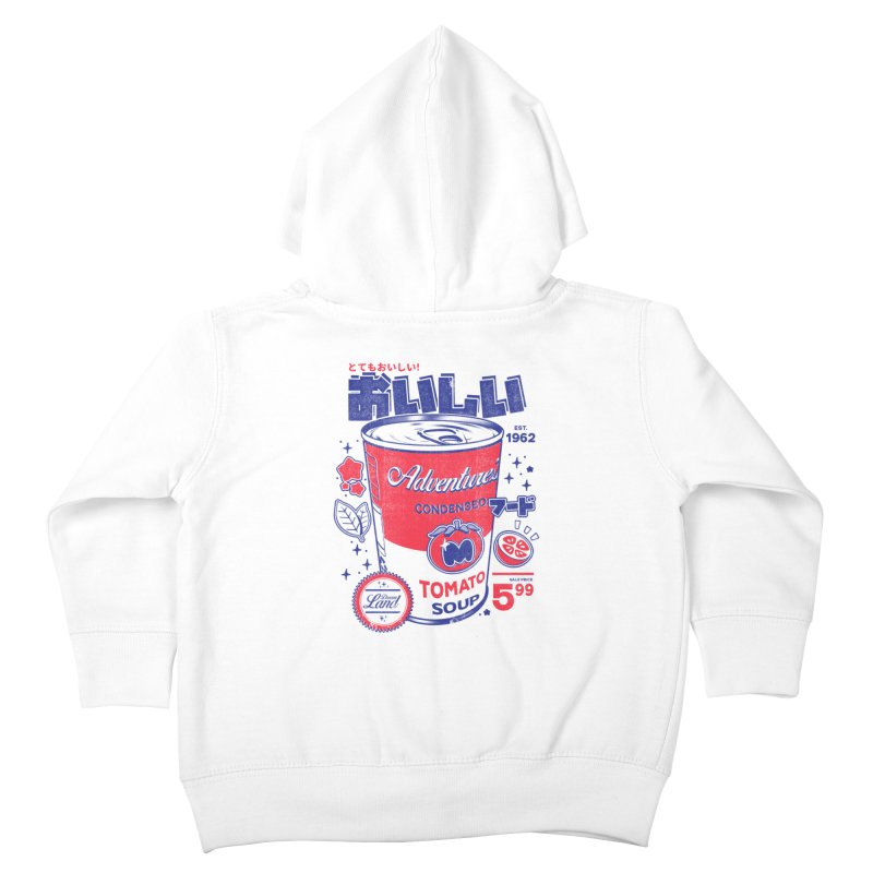 Tomato soup Kids Toddler Zip-Up Hoody by ilustrata