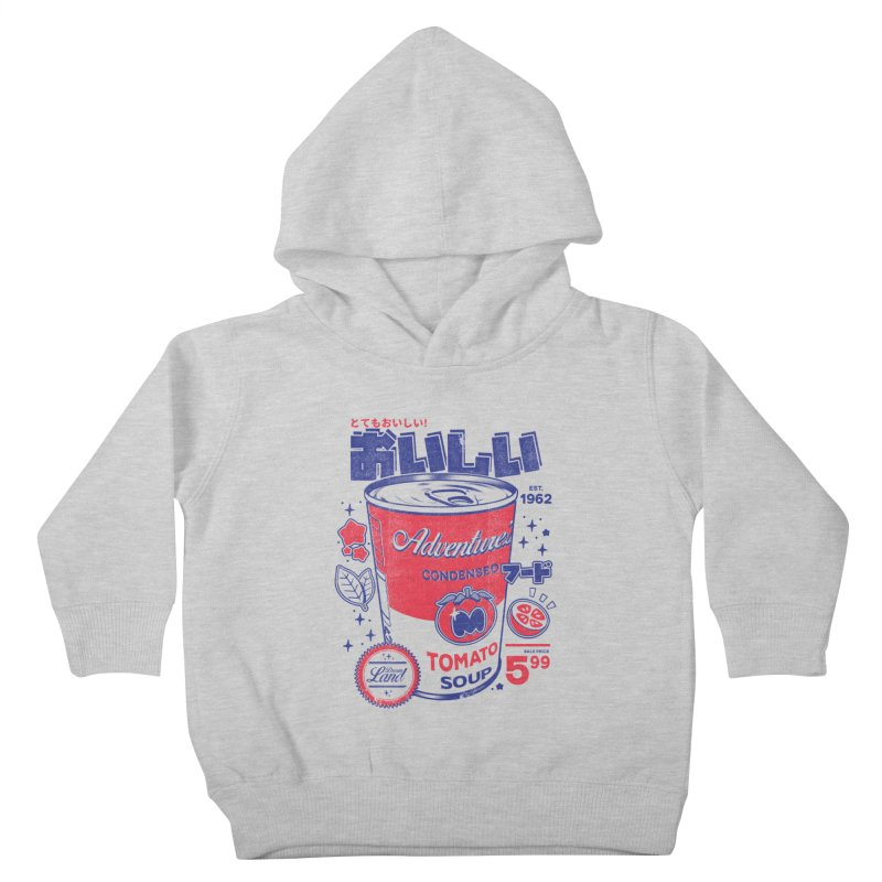 Tomato soup Kids Toddler Pullover Hoody by ilustrata