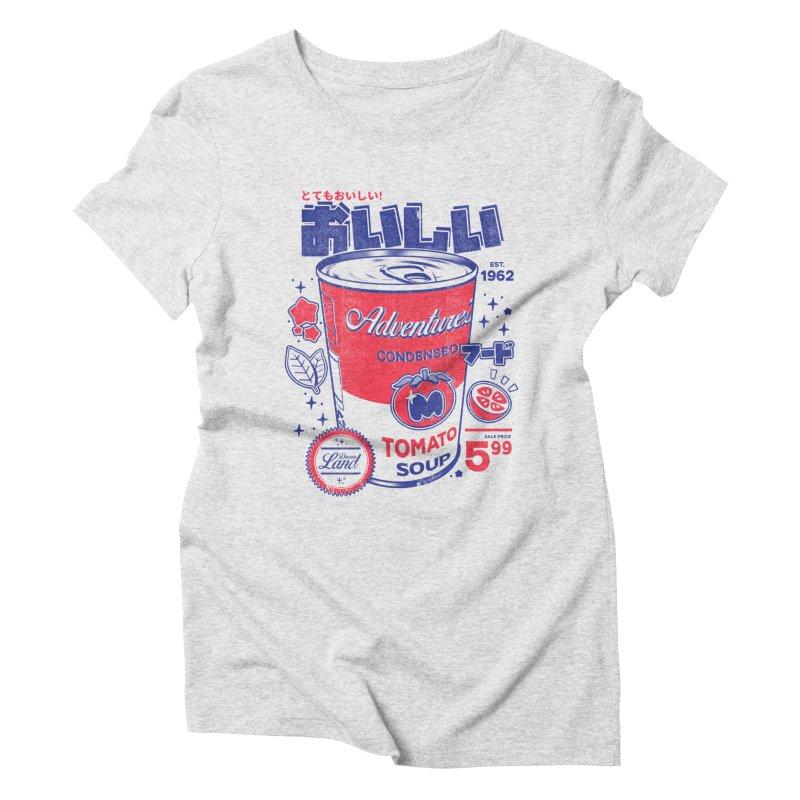 Tomato soup Women's Triblend T-Shirt by ilustrata