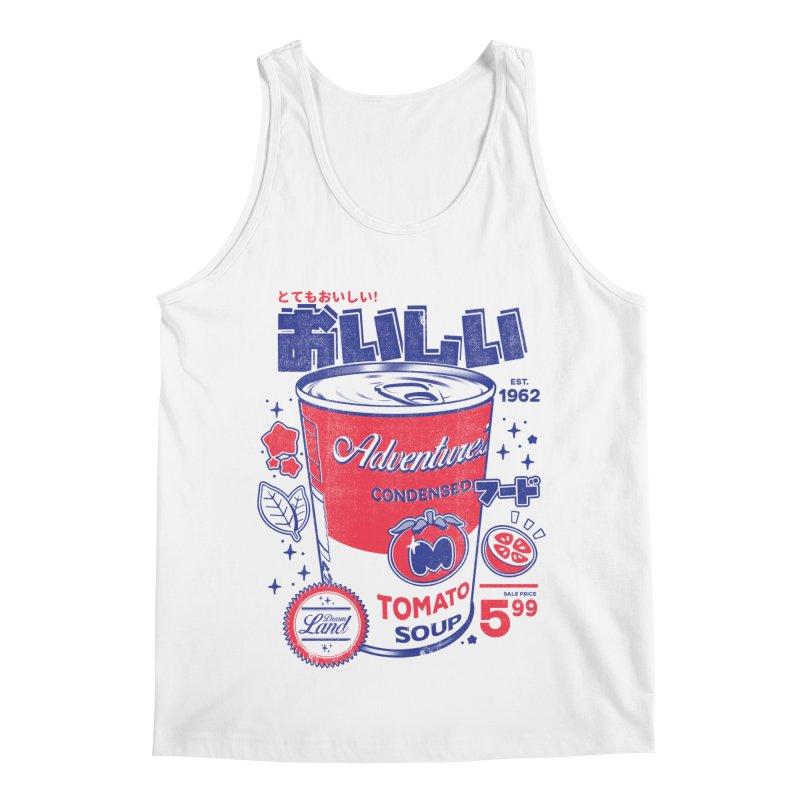 Tomato soup Men's Regular Tank by ilustrata