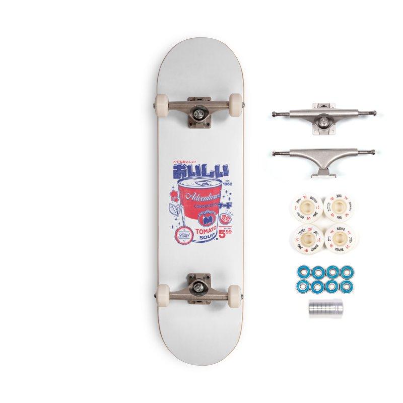 Tomato soup Accessories Complete - Premium Skateboard by ilustrata