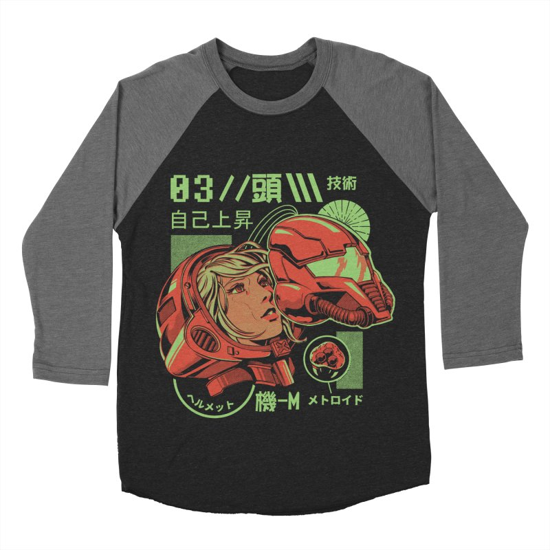 S-head Men's Baseball Triblend Longsleeve T-Shirt by ilustrata