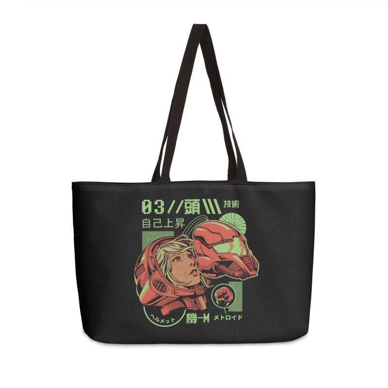 S-head Accessories Weekender Bag Bag by ilustrata