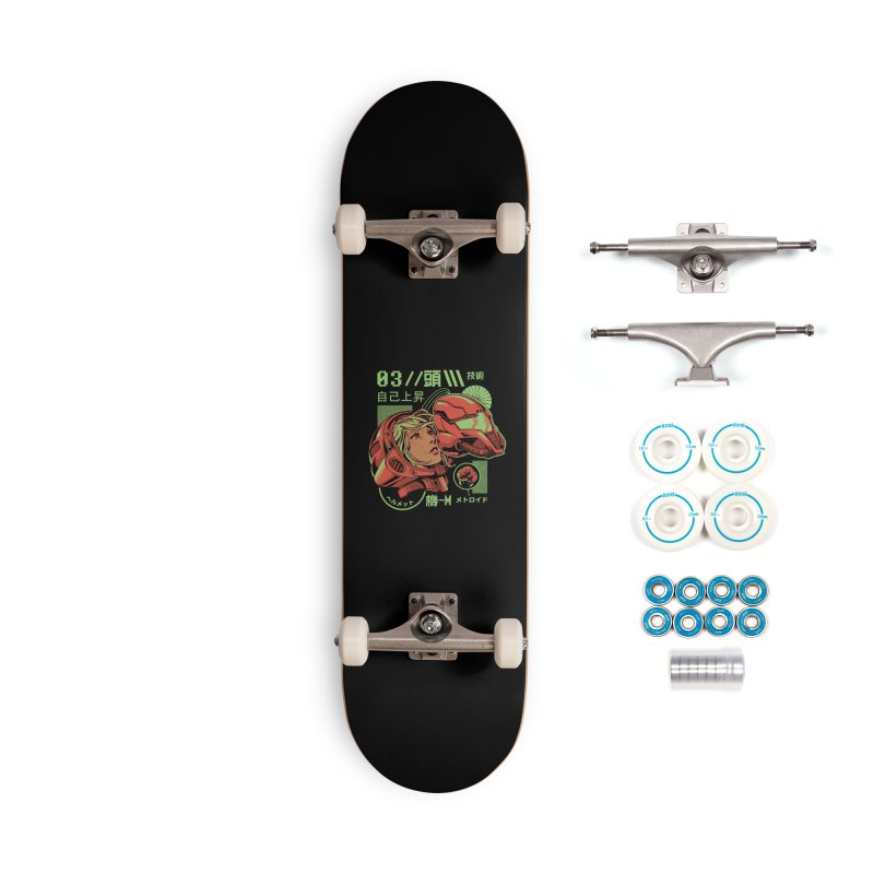 S-head Accessories Complete - Basic Skateboard by ilustrata