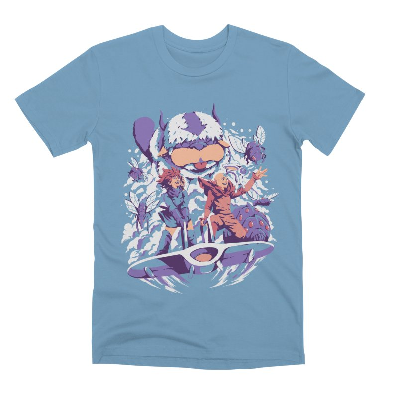 From the valley of the wind Men's Premium T-Shirt by ilustrata
