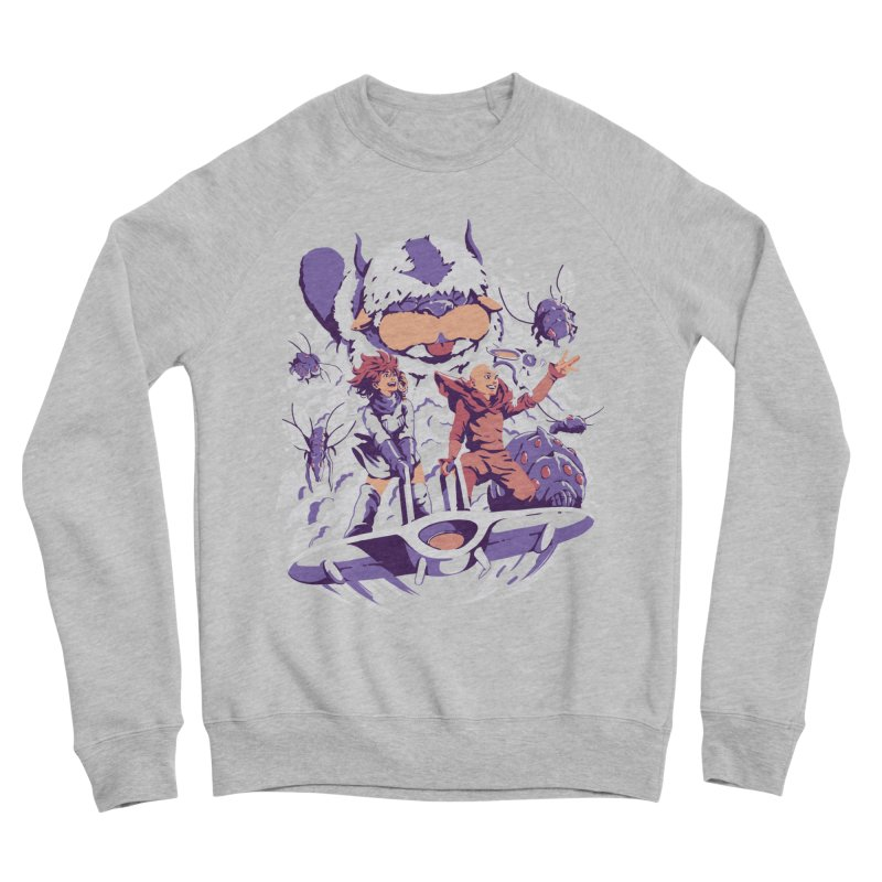 From the valley of the wind Women's Sponge Fleece Sweatshirt by ilustrata