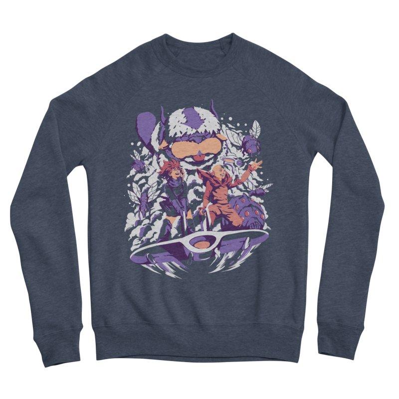 From the valley of the wind Men's Sponge Fleece Sweatshirt by ilustrata