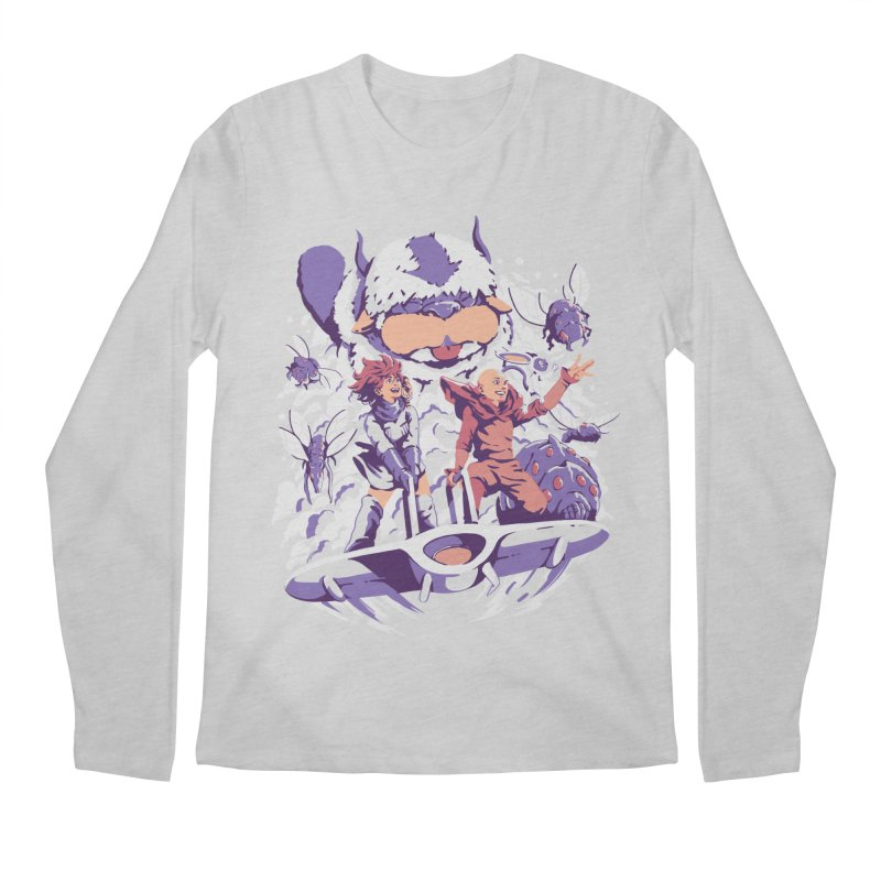 From the valley of the wind Men's Regular Longsleeve T-Shirt by ilustrata