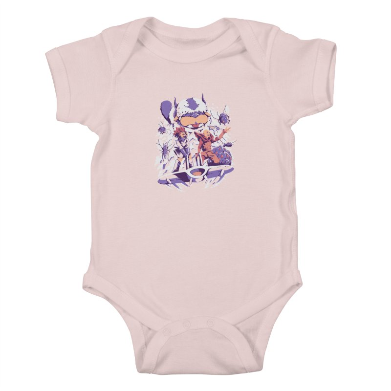From the valley of the wind Kids Baby Bodysuit by ilustrata
