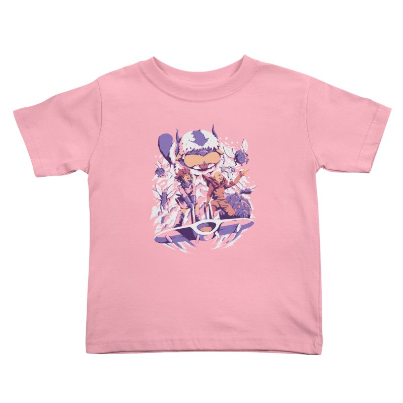 From the valley of the wind Kids Toddler T-Shirt by ilustrata