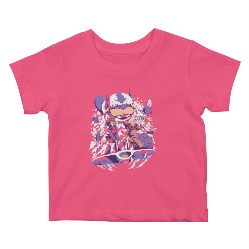 From the valley of the wind Kids Baby T-Shirt by ilustrata