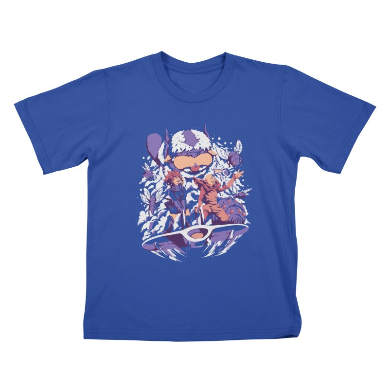 From the valley of the wind Kids T-Shirt by ilustrata
