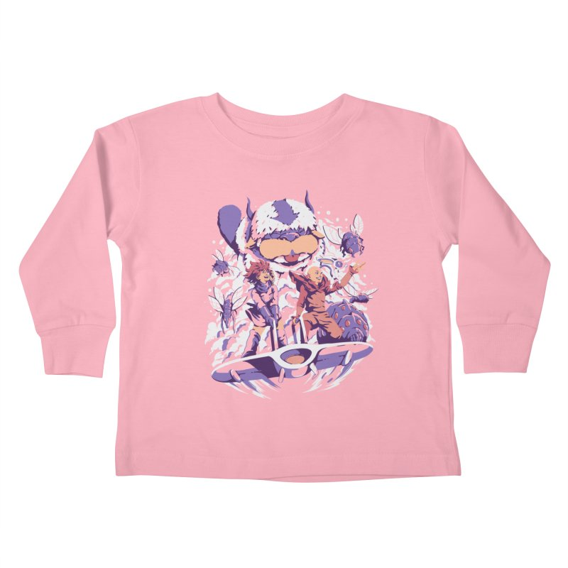 From the valley of the wind Kids Toddler Longsleeve T-Shirt by ilustrata