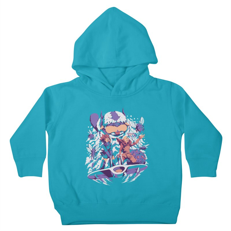 From the valley of the wind Kids Toddler Pullover Hoody by ilustrata