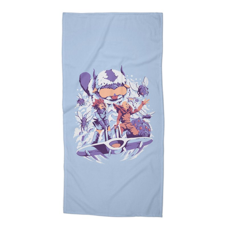 From the valley of the wind Accessories Beach Towel by ilustrata
