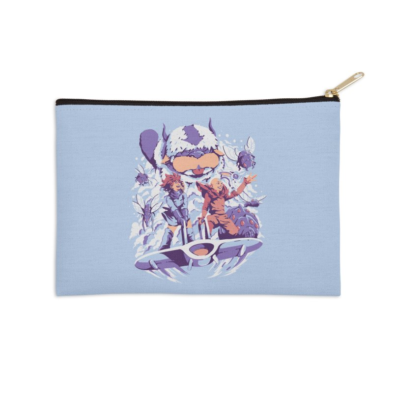 From the valley of the wind Accessories Zip Pouch by ilustrata