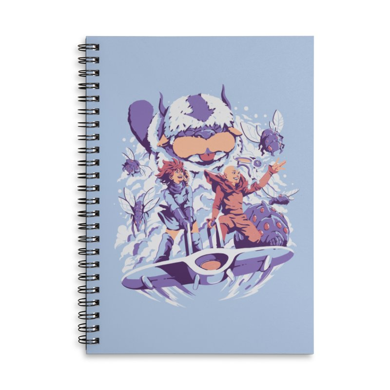 From the valley of the wind Accessories Lined Spiral Notebook by ilustrata