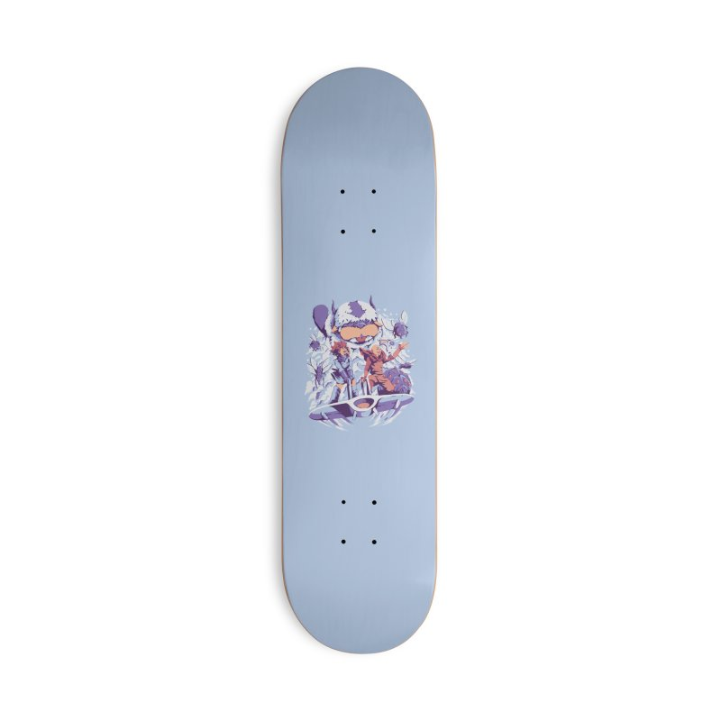 From the valley of the wind Accessories Deck Only Skateboard by ilustrata