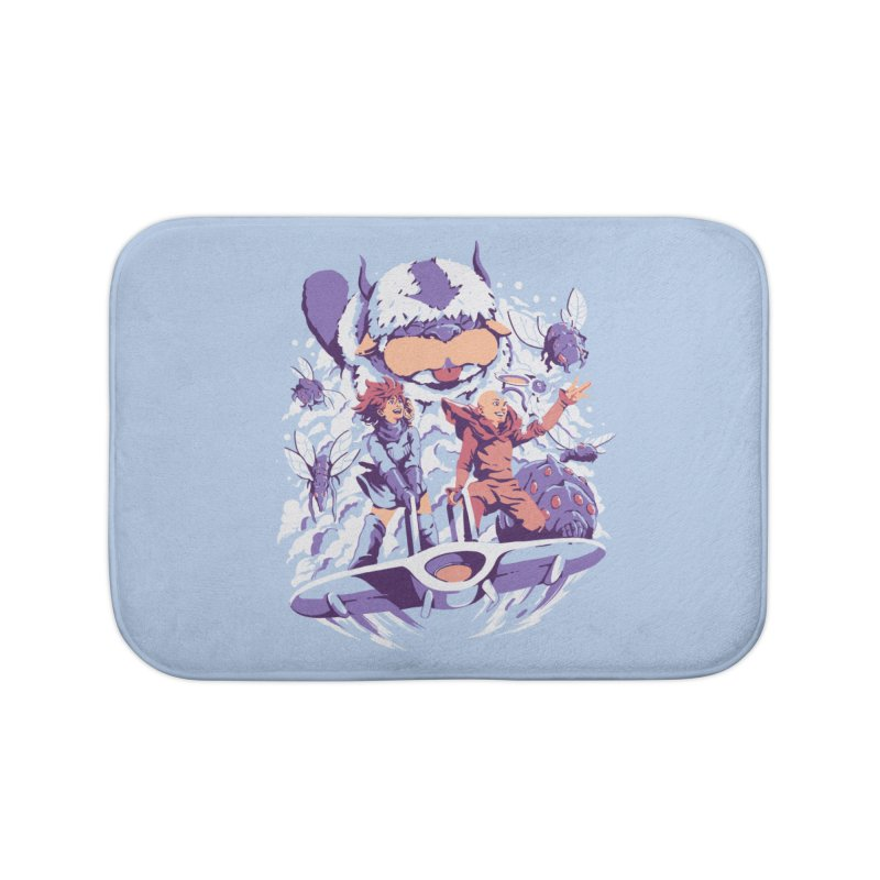 From the valley of the wind Home Bath Mat by ilustrata
