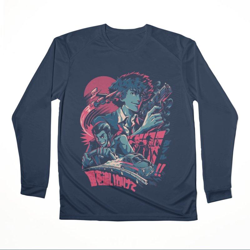 LxS Men's Performance Longsleeve T-Shirt by ilustrata