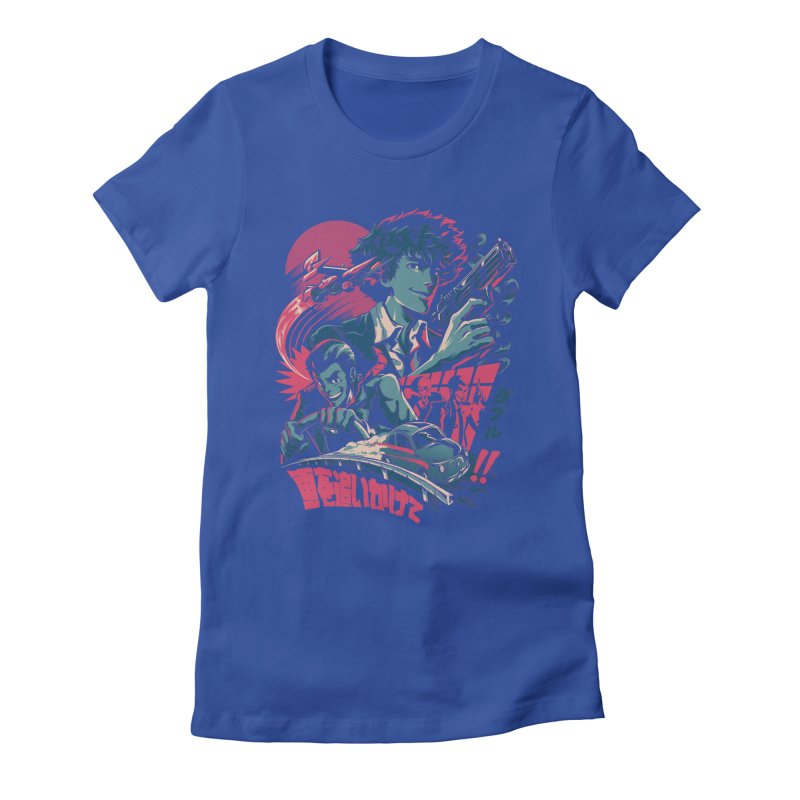 LxS Women's Fitted T-Shirt by ilustrata