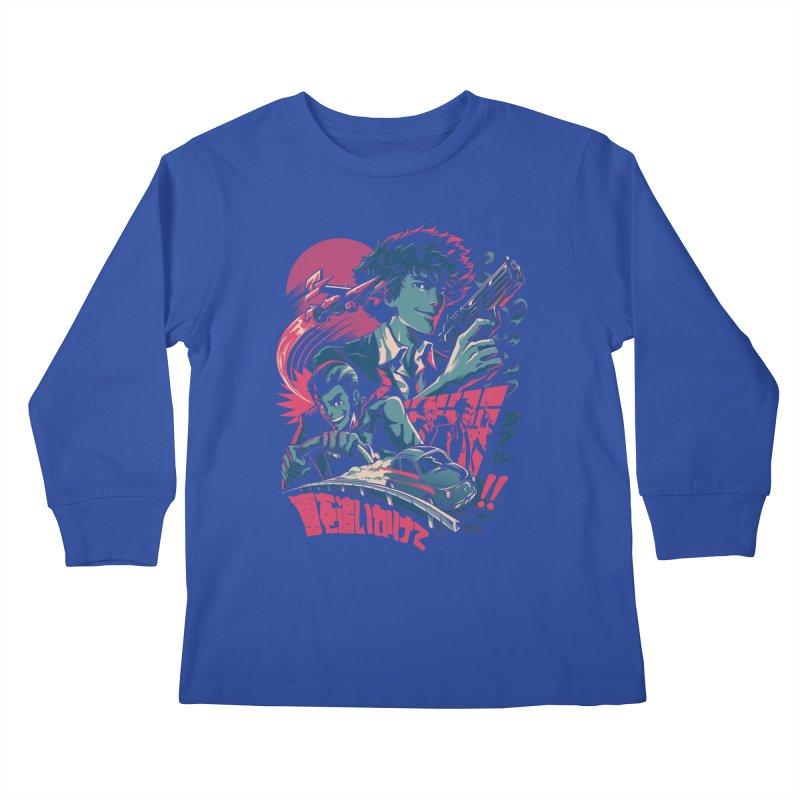 LxS Kids Longsleeve T-Shirt by ilustrata