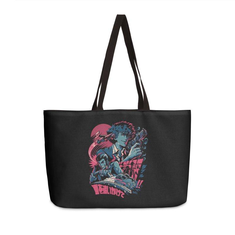LxS Accessories Weekender Bag Bag by ilustrata
