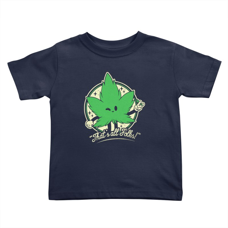 That's all Folks! Kids Toddler T-Shirt by ilustrata