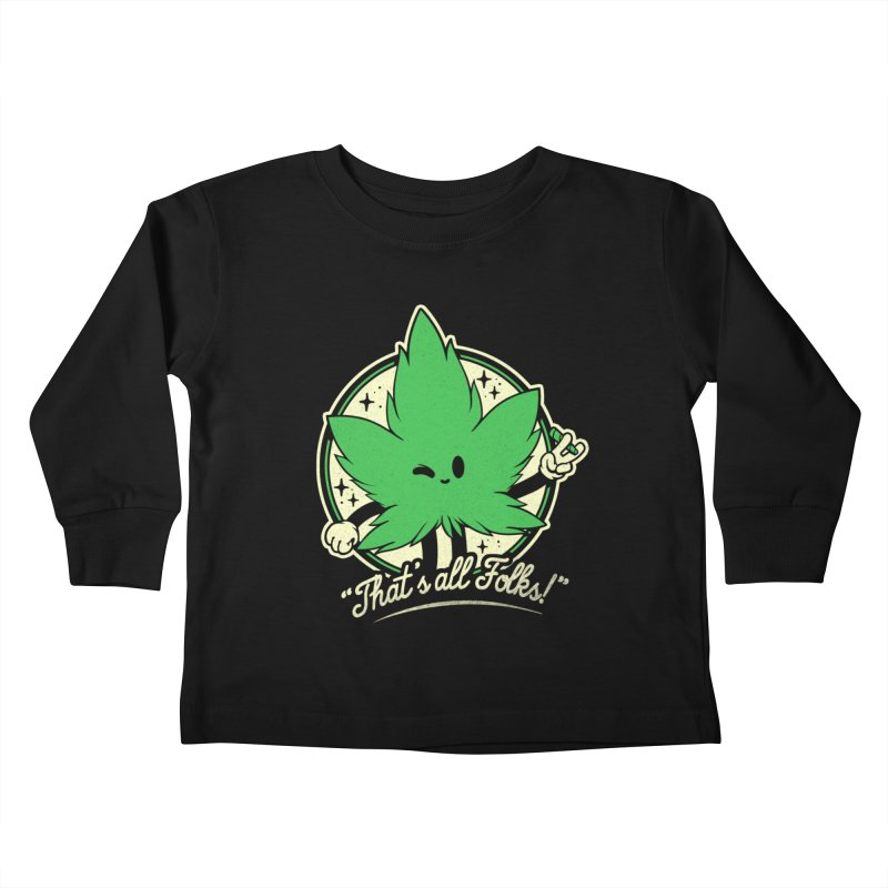That's all Folks! Kids Toddler Longsleeve T-Shirt by ilustrata