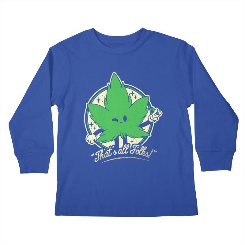 That's all Folks! Kids Longsleeve T-Shirt by ilustrata
