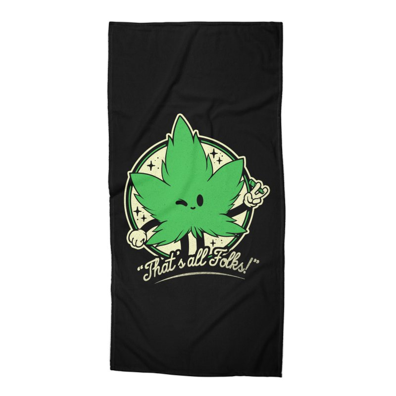 That's all Folks! Accessories Beach Towel by ilustrata