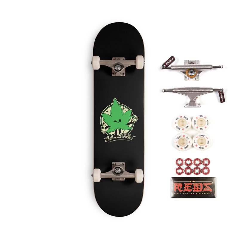 That's all Folks! Accessories Complete - Pro Skateboard by ilustrata